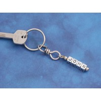 Personalised Name Nut Key Ring with any 4 letters...